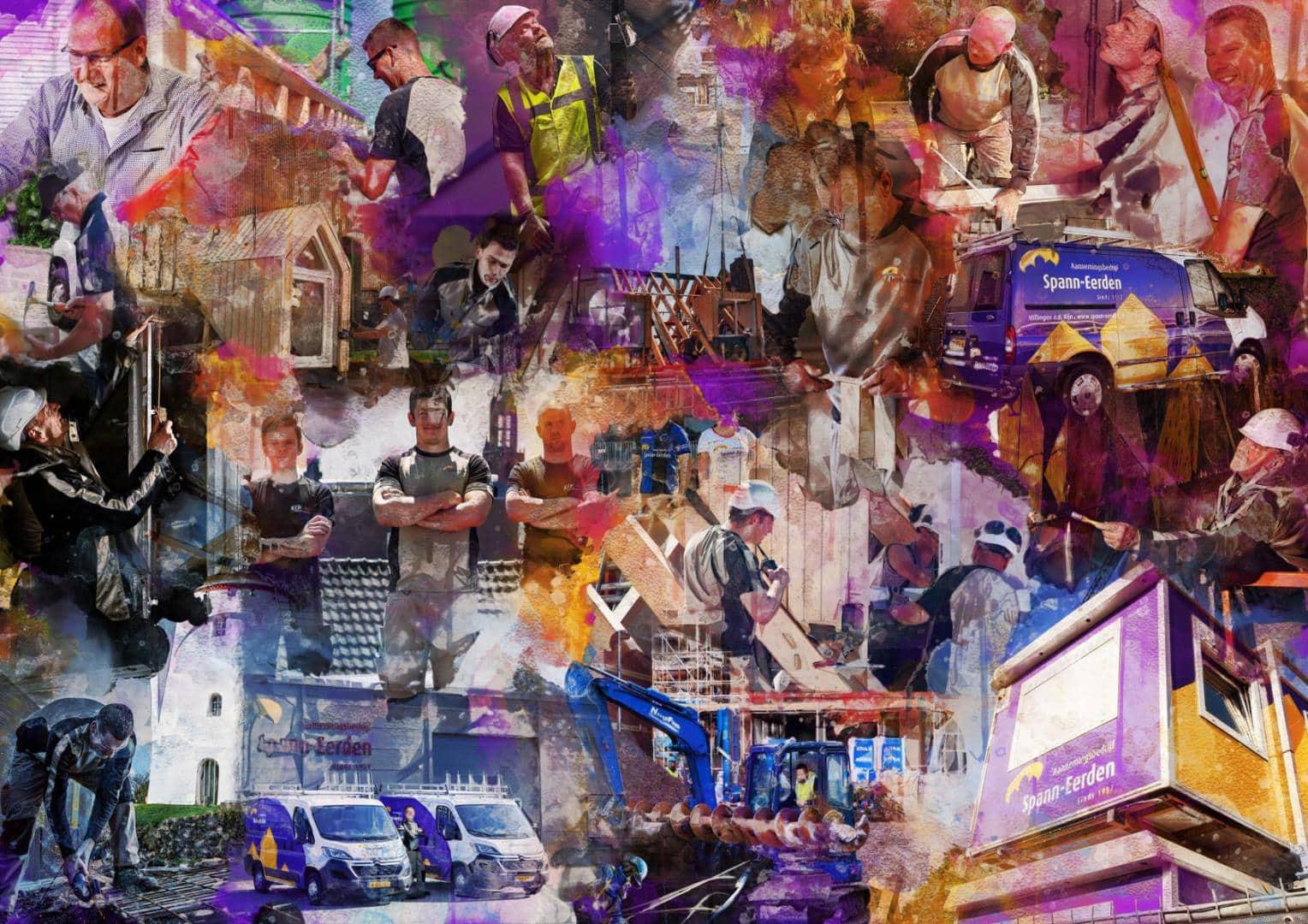 collage spann-eerden
